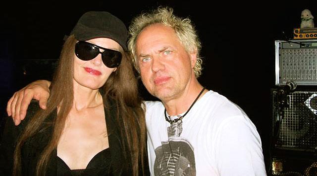 Pamela & Uwe Ochsenknecht at the 500th New York Nights party