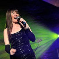 Pamela Falcon performed for the Haiti Spendengala