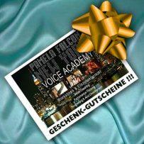 New York Voice Academy Geschenkgutscheine!