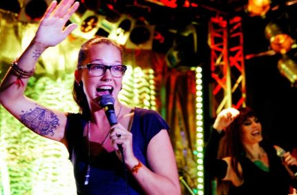 Stefanie Heinzmann (Wow!) at New York Nights 12 year anniversary