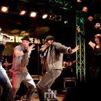 Jessie Lee Davis, Benny McMillan, Kenny King & PamelaFalcon – Riff Club NEW YORK NIGHTS show – April 2012