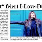 "Rheinische Post Düsseldorf > Portal ""Tonight"" feiert I-Love-Düsseldorf-Party"