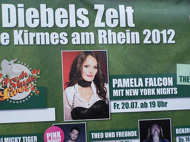 Thank you Düsseldorf & Diebels! - Pamela Falcon & NEW YORK NIGHTS at the Düsseldorf Kirmes