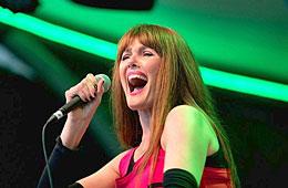 Pamela Falcon singt zum Abschluß von Bochum Total 2012