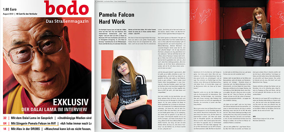 Bodo Magazine - 08.12 - Pamela Falcon