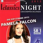 Pamela Falcon ist die Pop-Stimme der Dillinger classicsNight 2012
