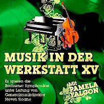 Musik in der Werkstatt XV mit Pamela Falcon