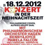 """""""Konzert in der Weihnachtszeit"""" Philharmonie Essen"""