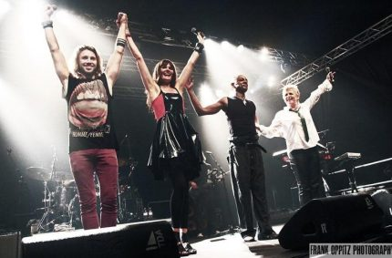 PAMELA & PERCIVAL, GIL OFARIM & BRIGITTE LORENZ am ZELTFESTIVAL RUHR 2013 – Foto: Frank Oppitz