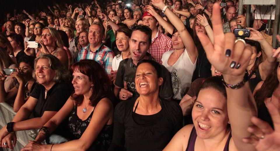 Das Publikum für Pamela Falcon am Zeltfestival Ruhr 2013