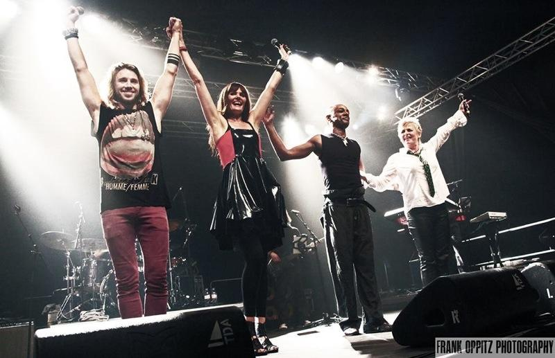 PAMELA & PERCIVAL, GIL OFARIM & BRIGITTE LORENZ am ZELTFESTIVAL RUHR 2013