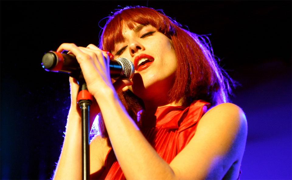 Iva Zalac als Dorota Popolski - special guest bei NEW YORK NIGHTS
