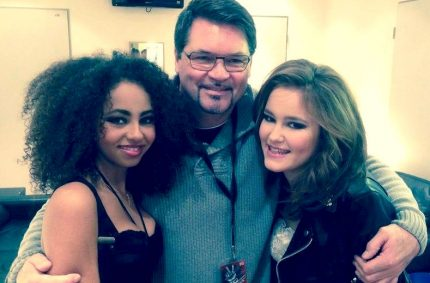 Joe Whitney (Voice Coach) with Debbie & Caro…