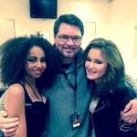 Joe Whitney (Voice Coach) with Debbie & Caro…