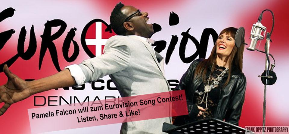 Pamela Falcon & Isaac Roosevelt wollen zum Eurovision Song Contest!