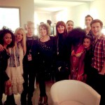 Pamela und The Voice Of Germany Tour gruppe