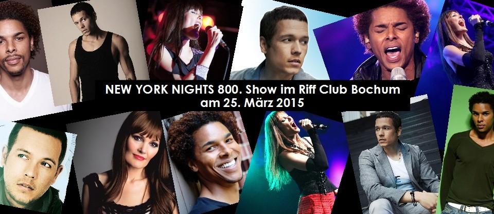 800. Show New York Nights am 25. März 2015