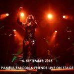 Pamela Falcon auf dem Zeltfestival am 4. Sept. 2015