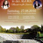 Sommernacht in der AGORA – Musik trifft Satire!  Samstag 27.08