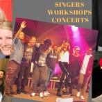 UPCOMING SHOWS – SINGING WORKSHOPS