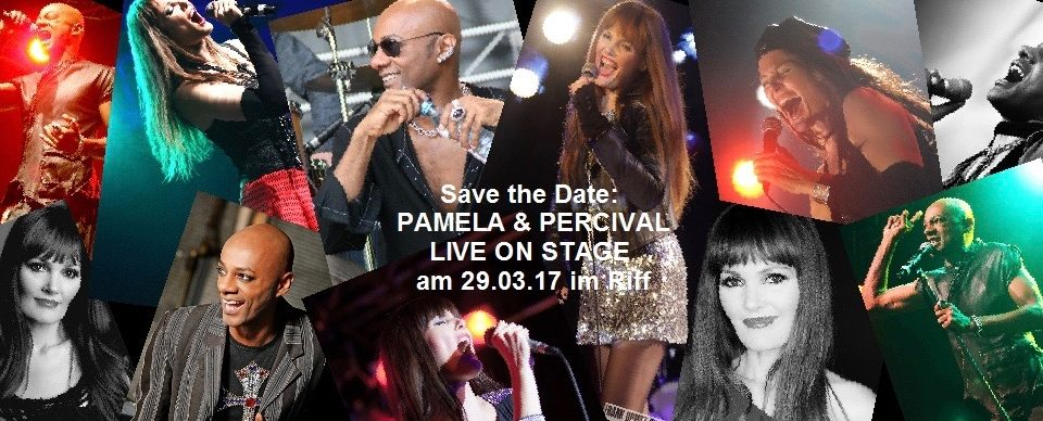 SAVE THE DATE! PERCIVAL AND PAMELA TOGETHER AGAIN 29.03.17 In RIFF CLUB!