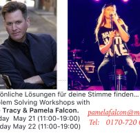 Dale Tracy and Pamela's Gesangsworkshop in Düsseldorf on Sunday May 21 & Monday May 22…