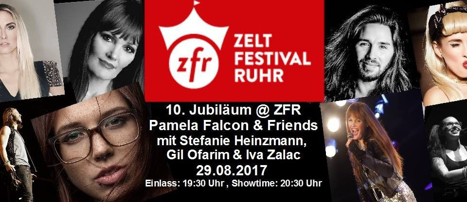ZELTFESTIVAL RUHR GIL OFARIM (Let's Dance), STEFANIE HEINZMANN & IVA ZALAC!