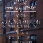 PROBLEM SOLVING VOICE WORKSHOP HAMBURG AUG. 20th DALE & PAMELA