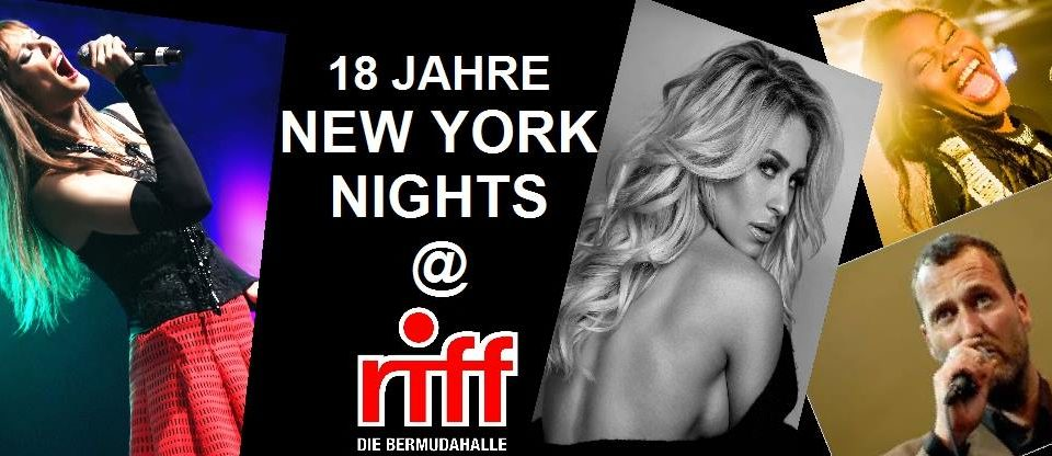 18 Jahre New York Nights von Pamela Falcon & Band 13.12. MITTWOCH!!!