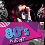 """""""80's Special"""" mit Pam, Stargast Hugh Kanza und natürlich der New York Nights Band 28.03."""