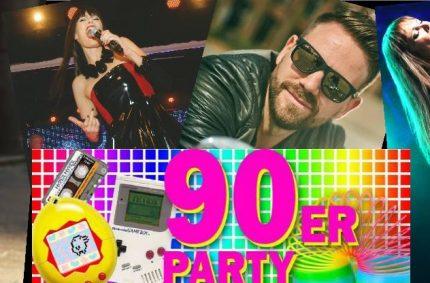 New York Nights 90's Special mit Pamela Falcon & Daniel Vorholt 04.04.18in Riff Club!