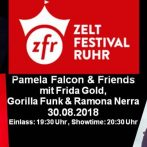 ZELTFESTIVAL RUHR SHOW THURSDAY AUGUST 30th