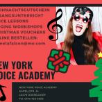 NEW YORK VOICE ACADEMY – GUTSCHEINE ZU WEIHNACHTEN!!!