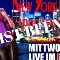 NEW YORK NIGHTS – 1000sten & LETZTEN MAL – JAN. 30, 2019 – RIFF CLUB – BOCHUM