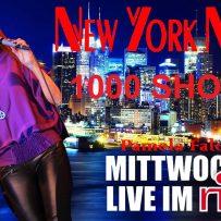 NEW YORK NIGHTS – 1000th SHOW – JAN. 30, 2019 – RIFF CLUB – BOCHUM