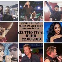ZELTFESTIVAL RUHR DO, 22.08.2019 PAMELA FALCON, MIRKO BÄUMER & ALICIA AWA BEISSERT