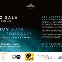 BENEFIZ-GALA WITH DOC HEILEIN & FRIENDS TONHALLE DÜSSELDORF 02.11