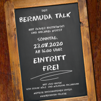 BERMUDA -TALK (& SING!) AUG. 23, 2020 IN  ROTUNDE RESTAURANT BOCHUM
