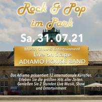 "20 YEARS ADIAMO! ROCK & POP im PARK ""KAISER PALAIS"" BAD OEYNHAUSEN 31.07.2021"