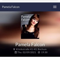 BOCHUM! PAMELA FALCON & FRIENDS 02.09.2021